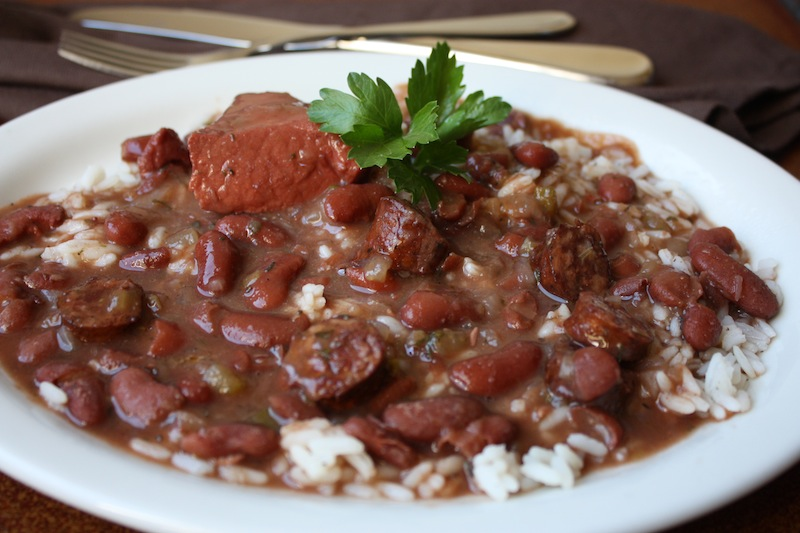 Sharing my personal red beans and rice crock pot recipe ...