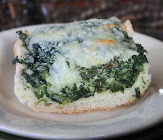 Spinach Bread