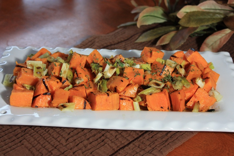 grilled sweet potatoe recipe