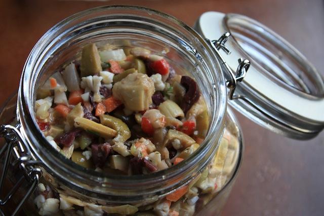 Italian olive salad