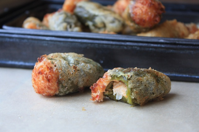 Crawfish Jalapeno Poppers