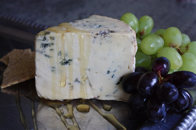 Blue Cheese with Honey Drizzle