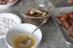 Andouille Crusted Shrimp