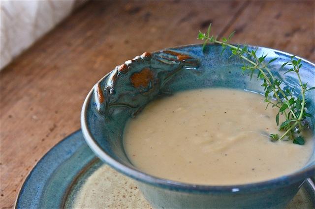 Chef Susan Spicer's Cream of Garlic Soup