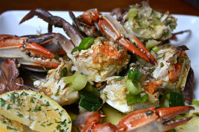 Marinated Crabs