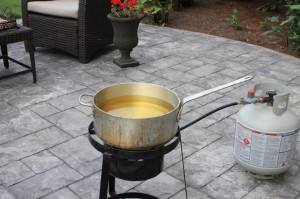 Outdoor Propane Deep Fryer
