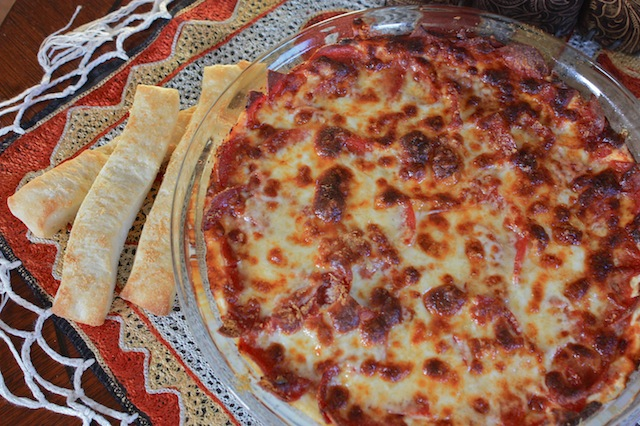 Finger Food Friday -- Pepperoni Pizza Dip