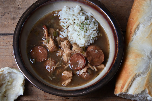 Thanksgiving Turkey Gumbo