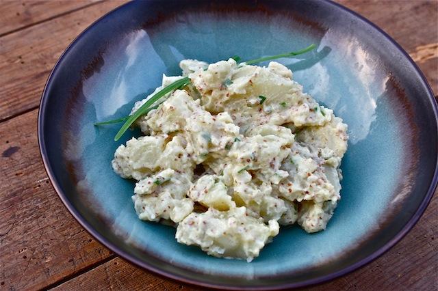 Potato Salad with Homemade Mayonnaise