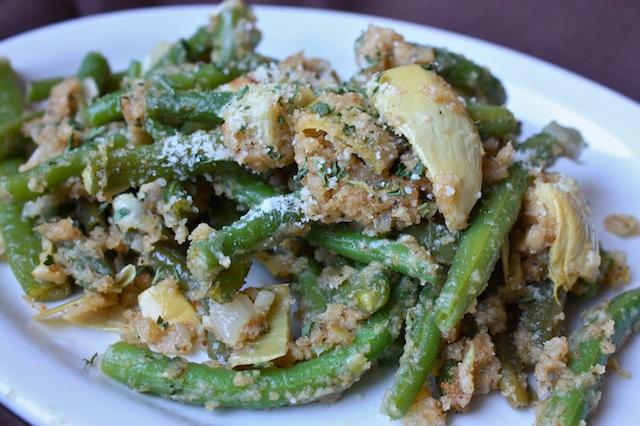 Green Bean and Artichoke Casserole
