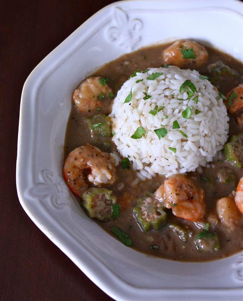 Gumbo with Shrimp and Okra