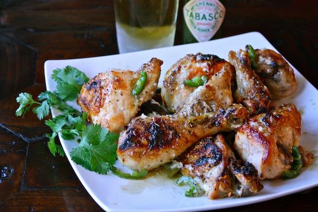 Tabasco Green Pepper Sauce Chicken