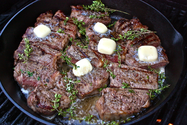 Grilled Skillet Steak