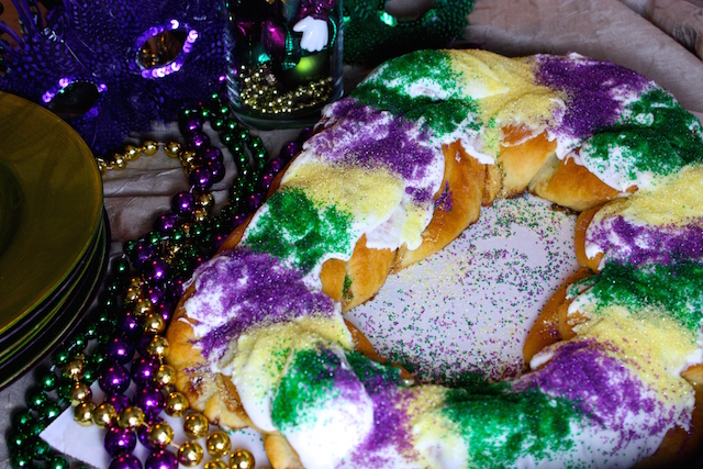Homemade King Cake