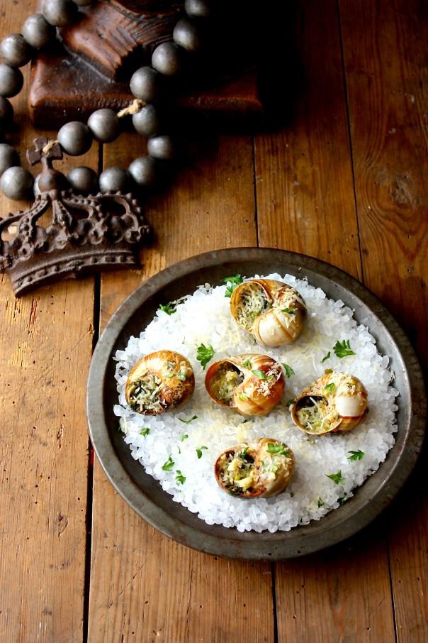 Chargrilled Escargots Recipe