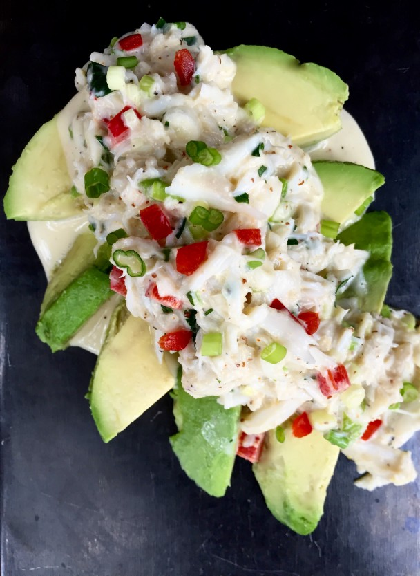 Crabmeat Salad with Avocado